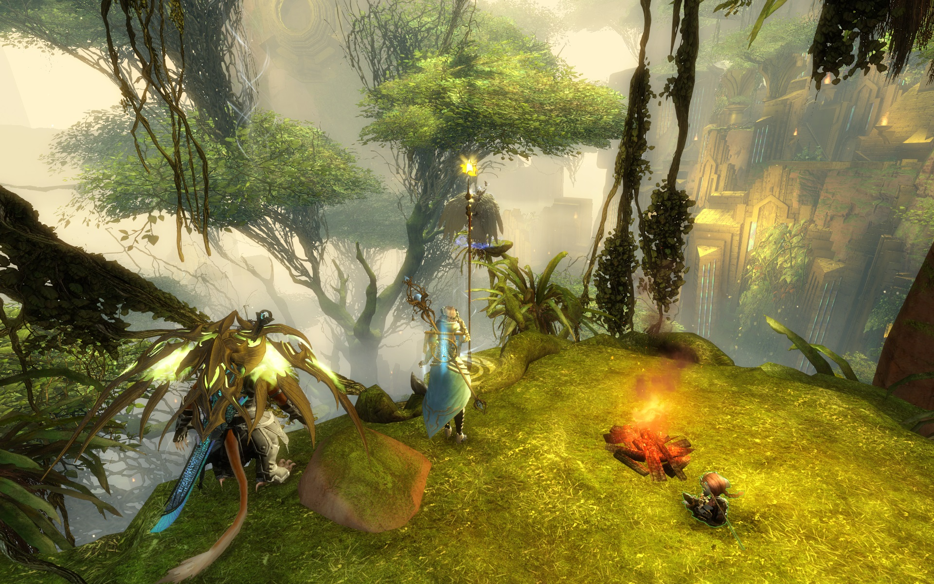 Guild Wars 2: Heart of Thorns, On Wings of Gold Adventure