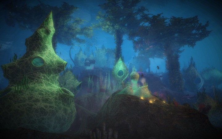 Guild Wars 2: A Quaggan City in Frostgorge Sound