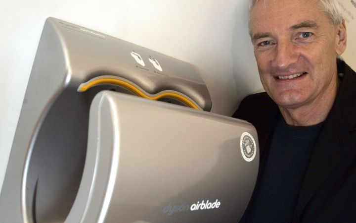James Dyson and the Dyson Airblade