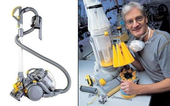 The DC08 and James Dyson