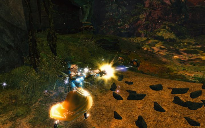 Guild Wars 2 : The Skritt Burglar in Bloodstone Fen