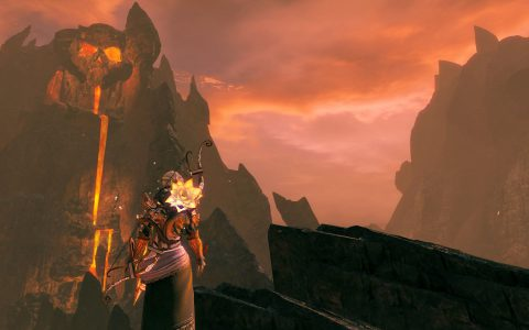 Guild Wars 2 : Ember Bay Infernal Cape