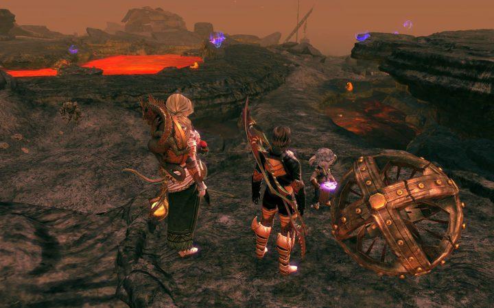 Guild Wars 2 : Ember Bay Lava Flats