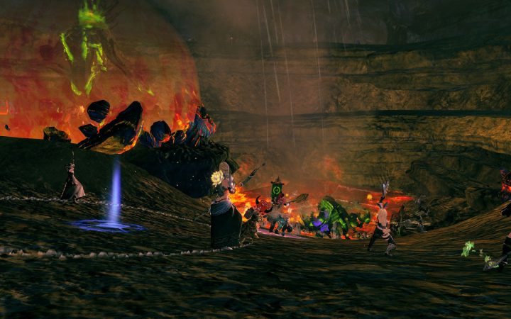 Guild Wars 2 : Ember Bay Burning Grotto