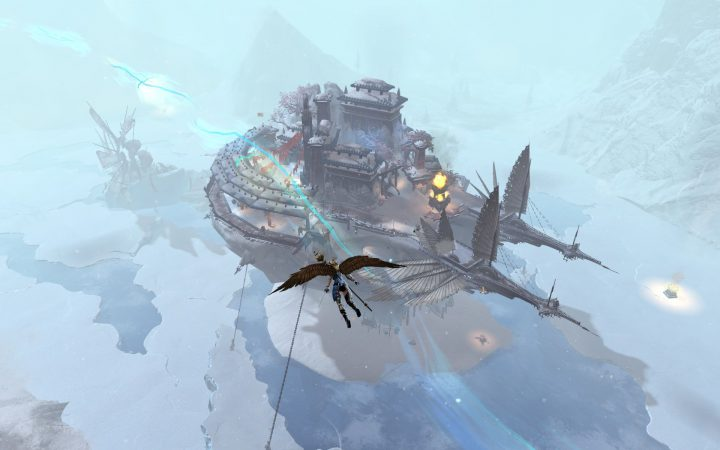 Guild Wars 2 : Bitterfrost Frontier Sorrows Eclipse