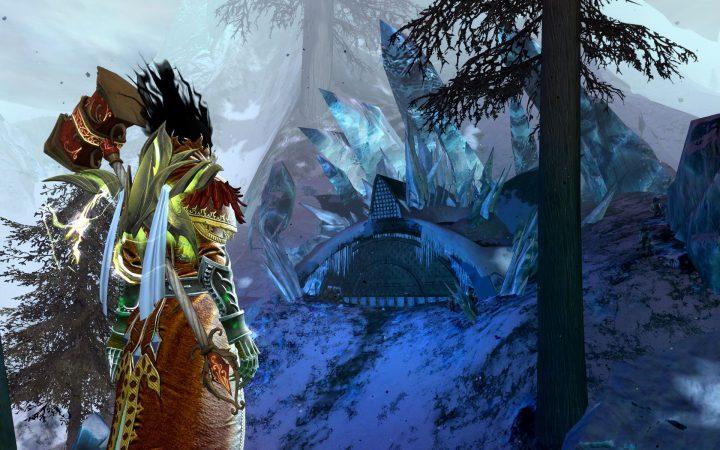 Guild Wars 2 : Bitterfrost Frontier Svanir Hive