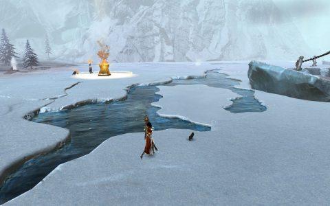 Guild Wars 2 : Bitterfrost Frontier Hailstone Floe