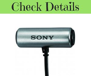 Sony ECMCS3 Stereo Lavalier Microphone
