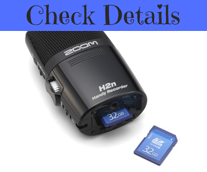 Zoom H2n USB Recorder Microphone