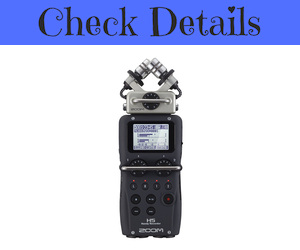 Zoom H5 Recorder Microphone