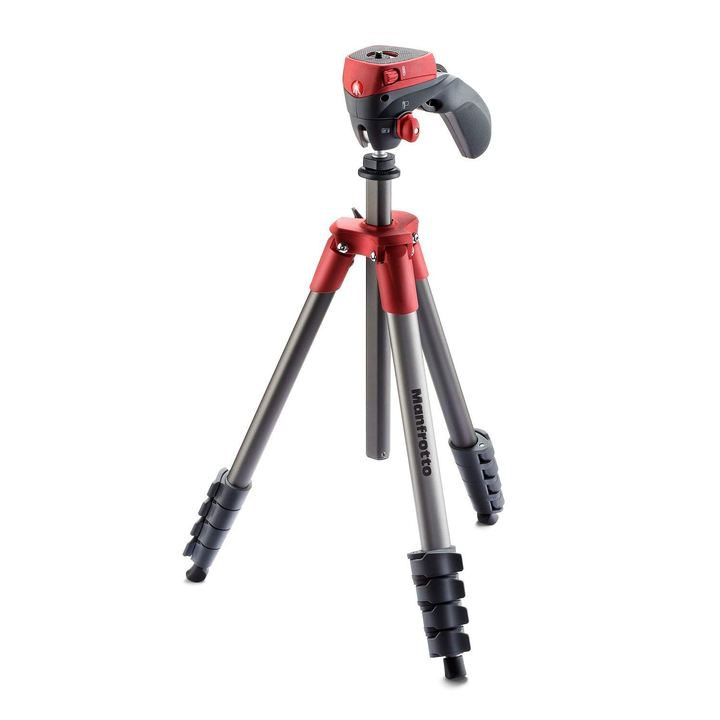 Red Manfrotto Advanced Tripod