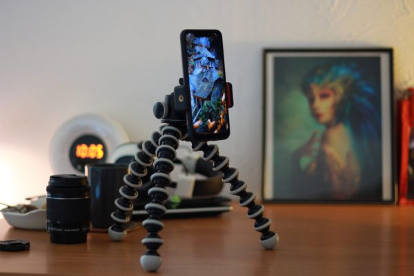 Manfrotto Smartphone Clamp • Joby GorillaPod